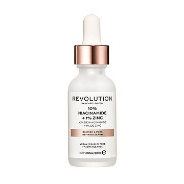 Makeup Revolution REVOLUTION SKINCARE Blemish and Pore Refining Serum - 10% Niacinamide + 1% Zinc 30 ml