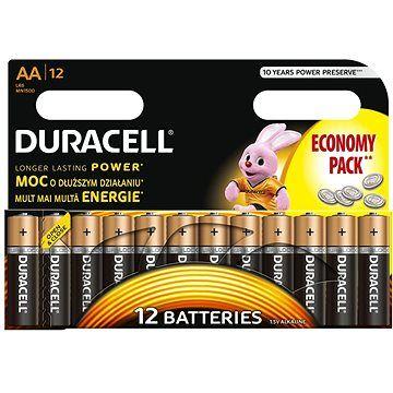 Duracell Basic AA 12 ks cena od 204 Kč