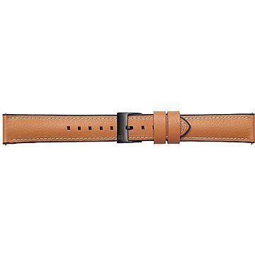 Samsung Galaxy Watch Braloba strap Rubber/Leather 22mm - Urban Traveller Tan
