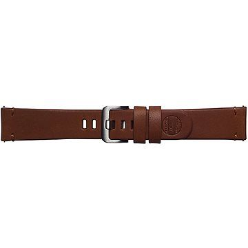 Samsung Galaxy Watch Braloba strap Classic Leather 22mm - Essex Hnědá