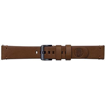 Samsung Galaxy Watch Braloba strap Classic Leather 20mm - Essex Hnědá
