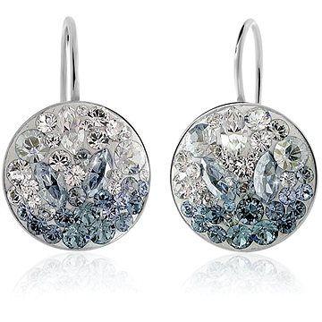 JSB Bijoux Stříbrné náušnice Rivoli Extramix Ice Swarovski® (925/1000; 3 g)