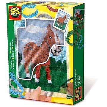 SES Vyšívání dečky – kůň
