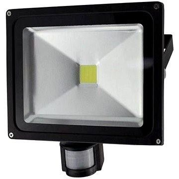 Solight venkovní reflektor se senzorem 30W, černý