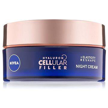 NIVEA Hyaluron Cellular Filler + Elasticity Remodelační noční krém 50 ml