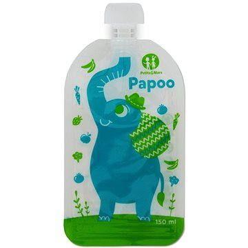 Petite&Mars kapsička na jídlo Papoo - 6× 150 ml