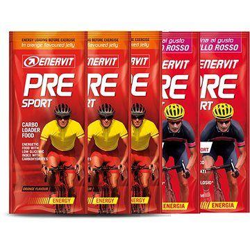 Enervit PRE Sport MIX, 3x45 g pomeranč a 2x45 g brusinka