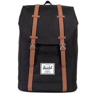 Herschel Retreat Black/Tan Synthetic Leather