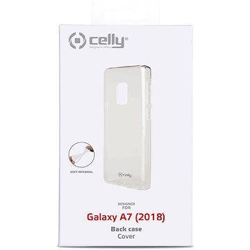 CELLY Gelskin pro Samsung Galaxy A7 (2018) bezbarvý