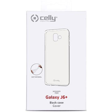 CELLY Gelskin pro Samsung Galaxy J6+ bezbarvý