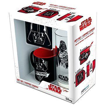 Abysse Star Wars Vader set - hrnek, podtácek, sklenice