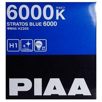 PIAA Stratos Blue 6000K H1 - studené bílé světlo s xenonovým efektem