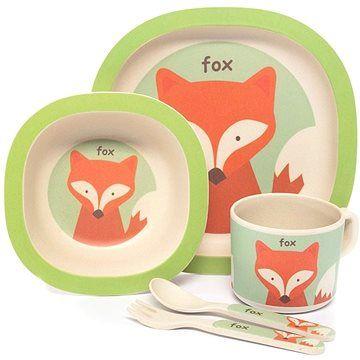 Zopa Bambusová sada nádobí - Fox