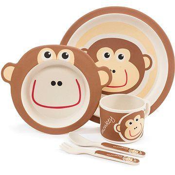 Zopa Bambusová sada nádobí - Monkey
