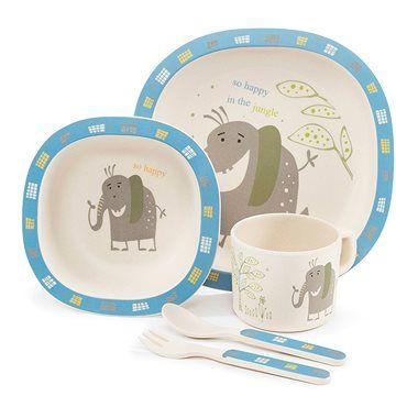 Zopa Bambusová sada nádobí - Elephant