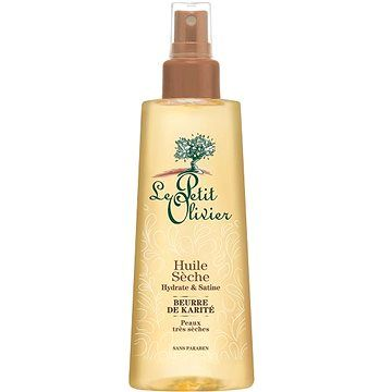 LE PETIT OLIVIER Tělový suchý olej Bambucké máslo a mandle 150 ml