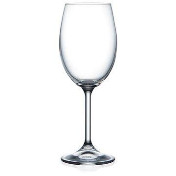 BOHEMIA CRYSTAL Crystalex Sklenice na víno LARA 250ml 6ks