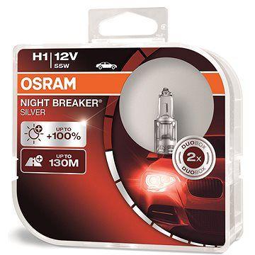 OSRAM H1 Night Breaker SILVER +100%, 2ks