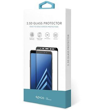 Epico Glass 2.5D pro Samsung Galaxy A70 - černá