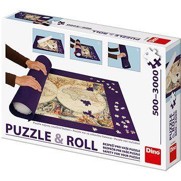 DINO Rolovací podložka pro puzzle