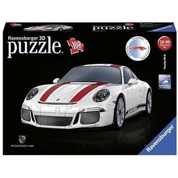 Ravensburger 3D 125289 Porsche 911R 108 dílků