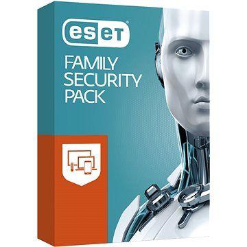 ESET Family Security Pack pro 3 počítače a 3 mobilní zařízení na 12 měsíců