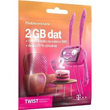 T-Mobile Předplacená karta Twist s Námi 2GB