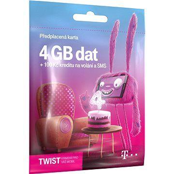 T-Mobile Předplacená karta Twist s Námi 4GB