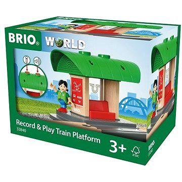 Brio World 33840 Nástupiště s vlastním hlášením