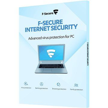 F-Secure INTERNET SECURITY pro 3 zařízení na 1 rok (elektronická licence)