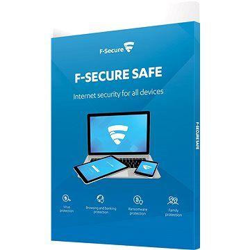 F-Secure SAFE pro 3 zařízení na 1 rok (elektronická licence)