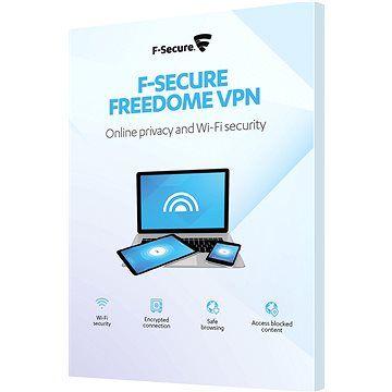 F-Secure FREEDOME pro 3 zařízení na 1 rok (elektronická licence)
