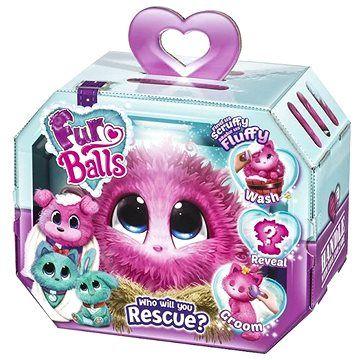 TM Toys Fur Balls Touláček - růžový