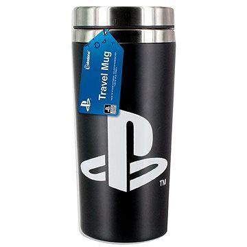 PALADONE PlayStation - cestovní hrnek s logem PS