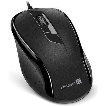 CONNECT IT Optical USB mouse černá