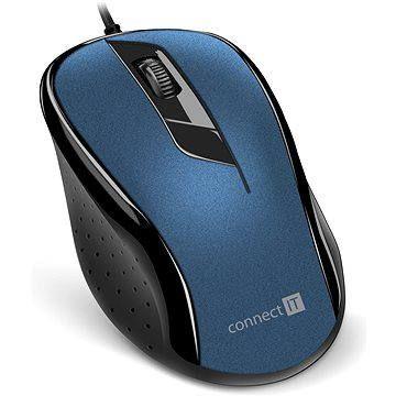 CONNECT IT Optical USB mouse modrá
