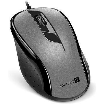 CONNECT IT Optical USB mouse šedá