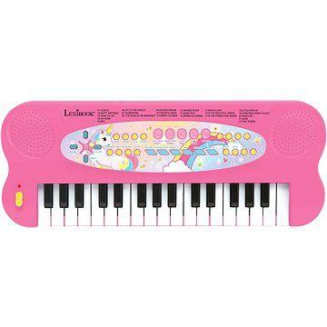 Lexibook Elektronický klavír - jednorožec