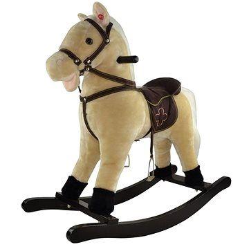 Teddies Kůň houpací béžový