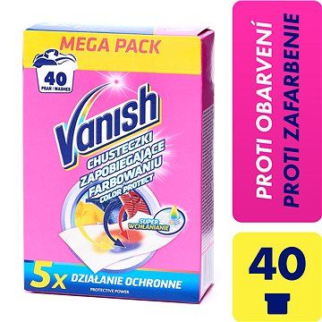 VANISH Color Protect 20 ks (40 praní)