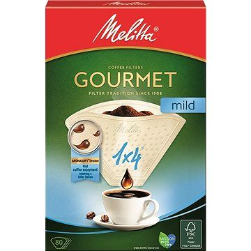 Melitta filtry 1x4/80 Gourmet MILD cena od 49 Kč