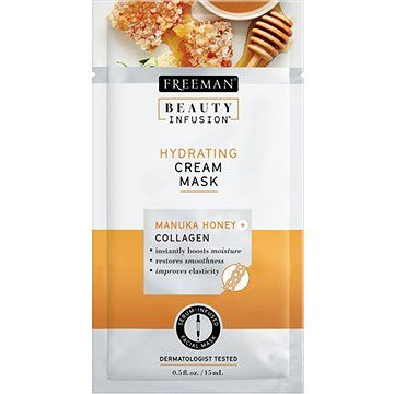 FREEMAN Beauty Infusion Hydratační krémová maska manuka 15 ml