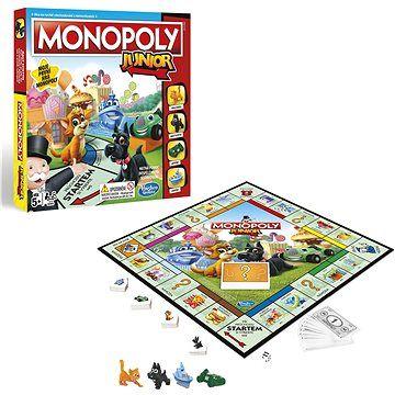 Hasbro Monopoly Junior CZ cena od 555 Kč