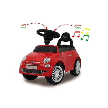 Jamara Push Car Fiat 500 - červený