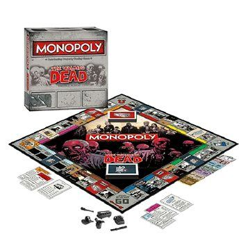 Winning Moves Monopoly Walking Dead, ENG