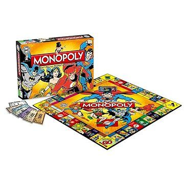 Winning Moves Monopoly DC Comics Retro, ENG