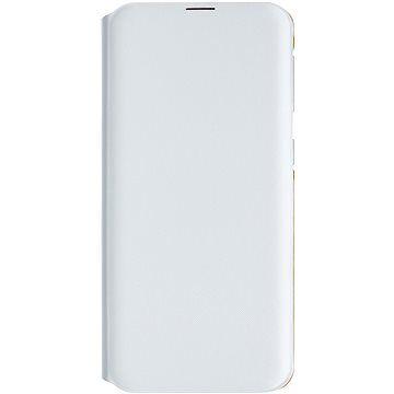 Samsung Galaxy A20e Flip Wallet Cover bílé