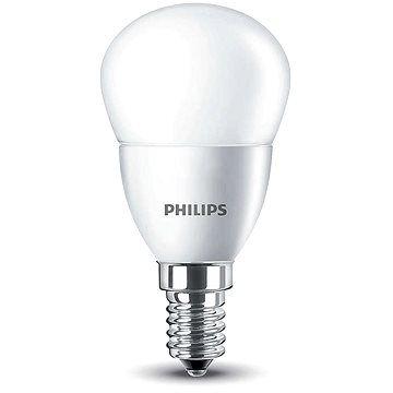Philips LED Kapka 5,5-40W, E14, 2700K, Mléčná cena od 0 Kč