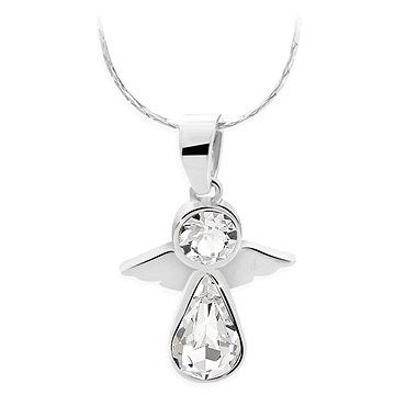 JSB Bijoux Náhrdelník Anděl s křišťálovými kameny Swarovski®