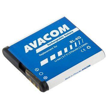 AVACOM pro Nokia 6700 Classic Li-Ion 3,7V 970mAh (náhrada BL-6Q)